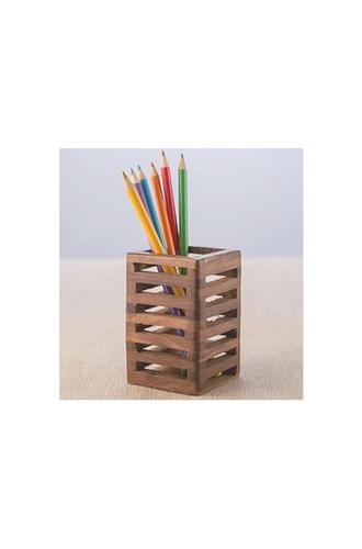 Designer Wooden Pen Stand