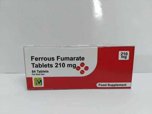 Ferrous Fumarate Tablets 210mg