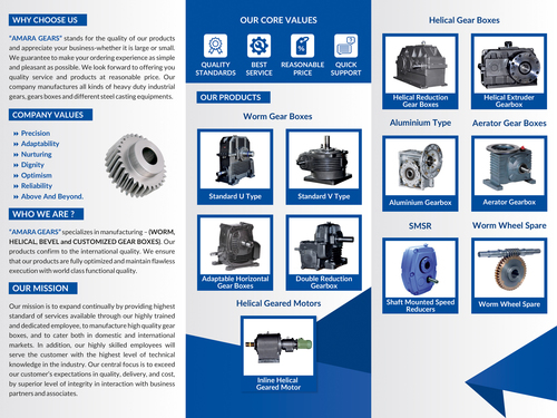 High Strength Industrial Gearboxes