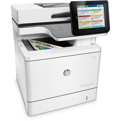 Automatic HP Color LaserJet Enterprise M577F All in One Laser Printer