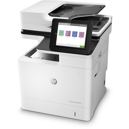 HP M633FH Monochrome All In One Laser Printer Black Print Speed: 75 PPM