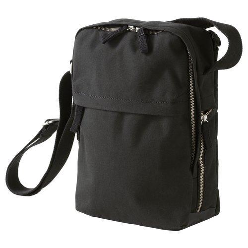 Ladies Black Canvas Sling Bag