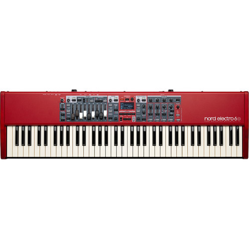 Nord Electro 6D 73 Note Semi Weighted Waterfall Keyboard Application: Concert