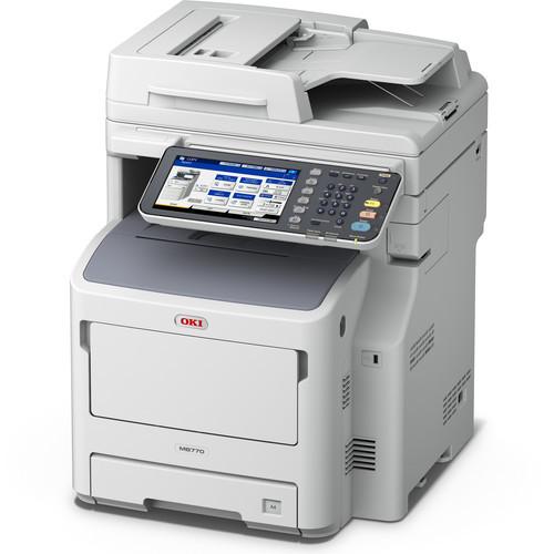 OKI MB770 All in One Monochrome LED Printer