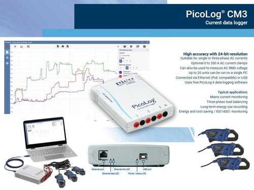 PicoLog CM3 Current Data Logger