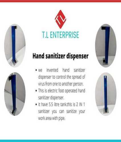 Portable Hand Sanitizer Dispenser