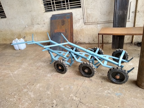 Rubber Bonded Tyre Drum Trolley