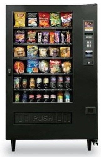Semi Automatic Snacks Vending Machine