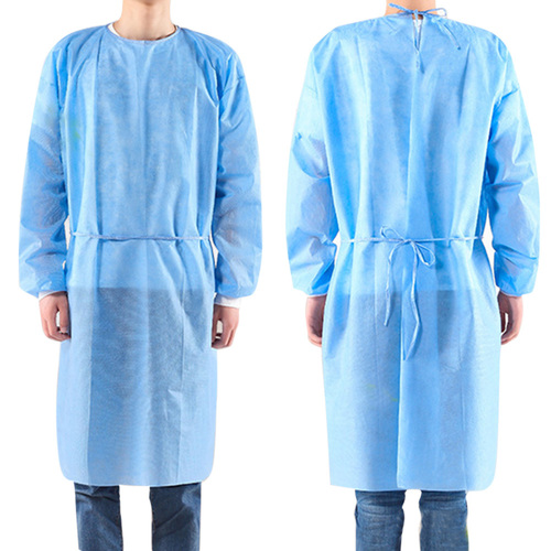 Smooth Finish Disposable Medical Gown