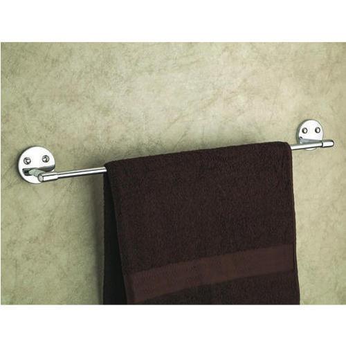 Wall Mount Brass Towel Rod