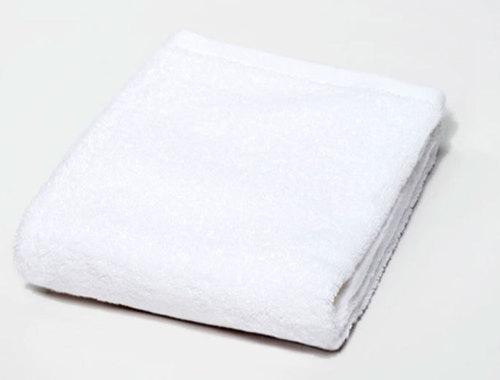 White Plain Personalized Towel