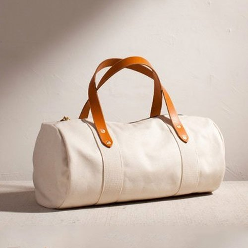White Polyester Gym Bags