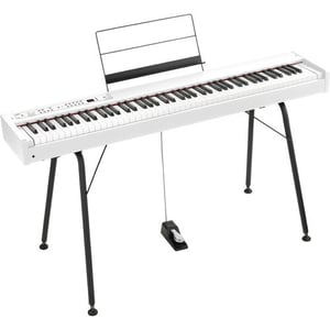 88 Key Digital Stage Piano with Pedal White