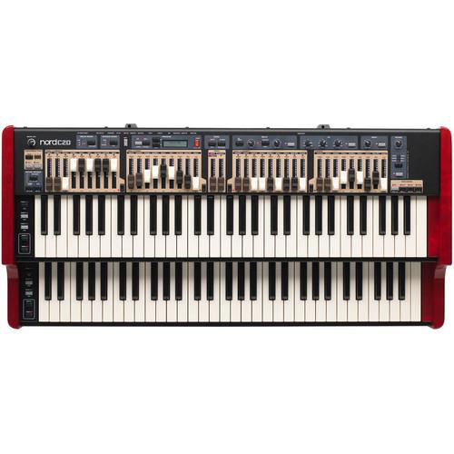 Combo Organ With Black Color Keys Application: Concert