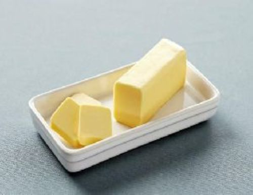 Cream White Butter for Food