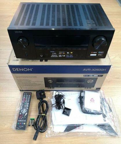 Denon AV Receiver (AVR-X2600H)