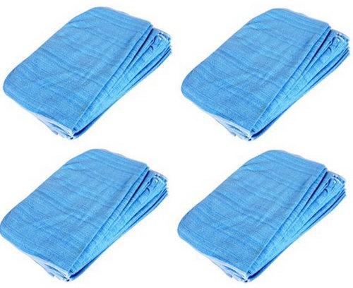 Light Weight Plain Microfiber Cleaning Towel