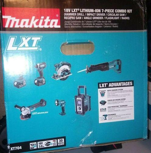 Makita XT1501 18V LXT Lithium Ion Cordless 15-Piece Combo Kit 3.0Ah