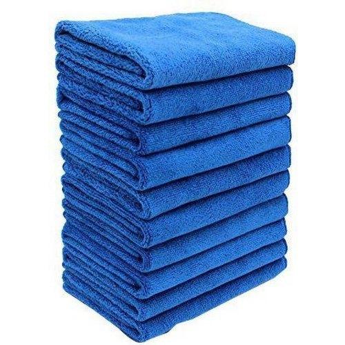 Microfiber Cleaning Dark Blue Towel