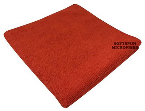 Microfibre Red Cleaning Wipe