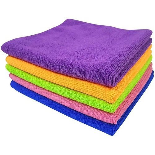 Plain Microfiber Cleaning Towel (300 Gsm)