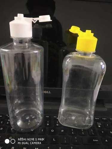 Plastic Transparent Bottle 500 ml