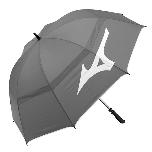 Printed Silver Round Umbrella