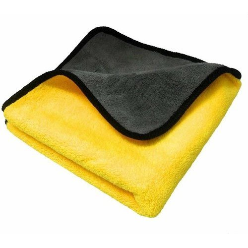 Yellow Microfiber Cloth (40 X 40cm)
