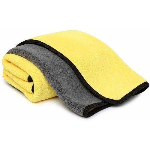 Yellow Microfiber Cloths (30 X 40 Cm)