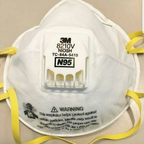 3M 8210V Particulate Respirator Face Mask
