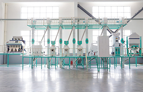 40T/D Combined Rice Mill