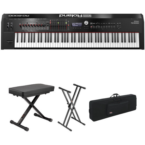 88 Key Digital Stage Piano With Bench Stand