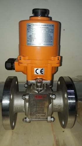 Actuator Operated Motorized Ball Valves