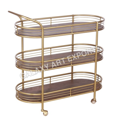 Contemporary Design Luxurious Trolley
