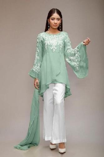 Designer Ladies Palazzo Suit