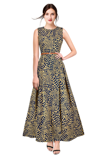 Ladies Evening Crepe Gowns