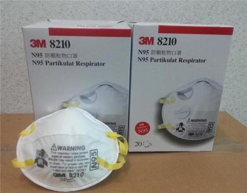 Original N95 3M 8210 Anti Haze Respirator Disposable Face Mask