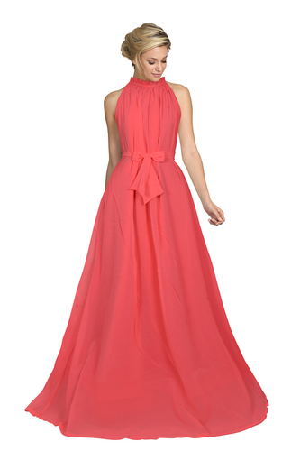 Party Wear Ladies Long Georgette Gown