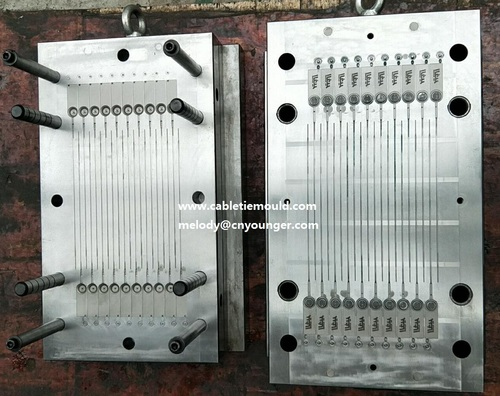 Plastic Security Drum Seal Injection Mould