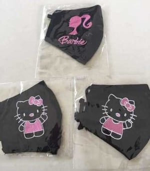Printed Kids Cotton Face Mask