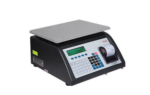 Receipt Printing Weighing Machine