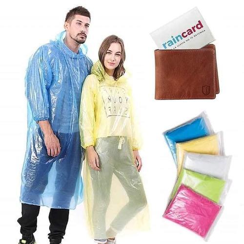 Skin Friendly Pocket Rain Coat