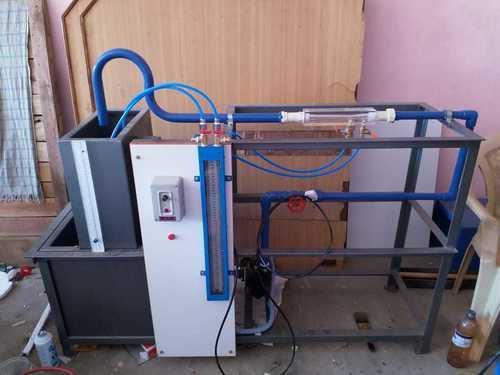 Venturimeter Apparatus With S S Sump Tank