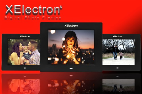 XElectron 8-inch Fully Functional LCD Digital Photo Frame