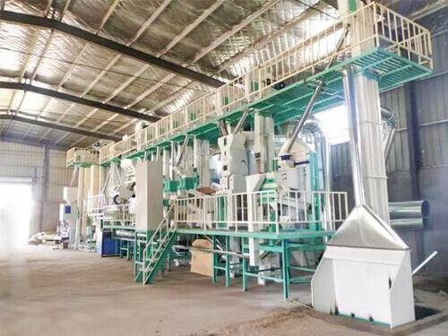 100TD Rice Mill Plant