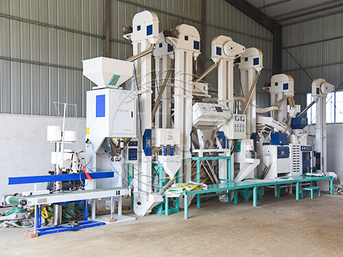 25T Modern Rice Mill Plant
