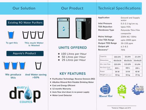 50 LPH Water Purifier