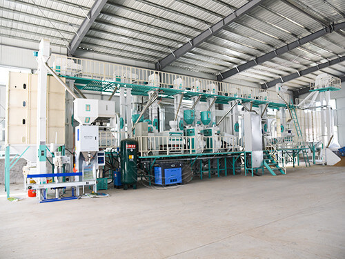 60TD Automatic Rice Mill Plant