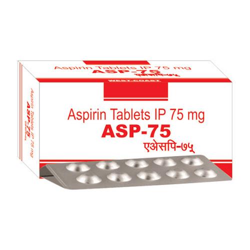 Acetylsalicylic Acid Tablets 75 mg