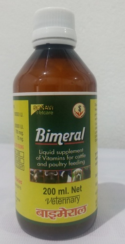 Bimeral Vitamin Supplement For Cattle And Poultry Feeding